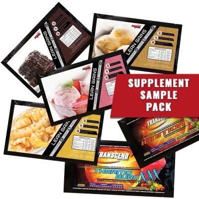 Supplement Sample Pack